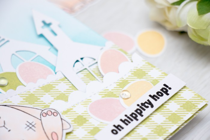 Simon Says Stamp | Oh Hippity Hop Easter Card by Yana Smakula using Reason to Smile Release. Video