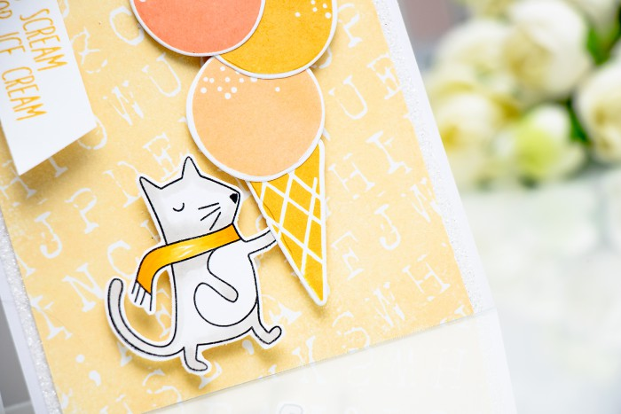 Simon Says Stamp | I Scream for Ice Cream Card by Yana Smakula