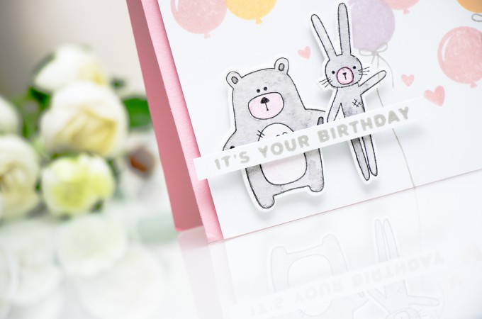 Simon Says Stamp | Its Your Birthday - Quick Background Stamping
