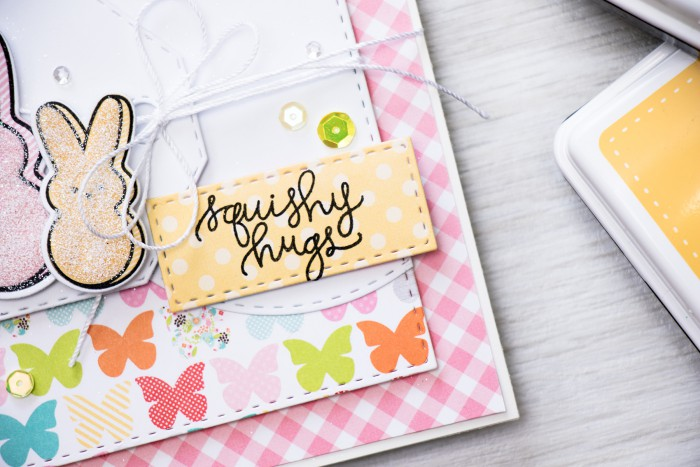 Simon Says Stamp | March 2016 Card Kit - Squishy Hugs. Video