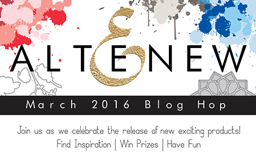 Altenew | March 2016 Release Blog Hop + Giveaway
