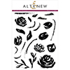 Altenew BRUSH ART FLORAL Clear Stamp Set