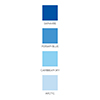 Altenew GLACIER CAVES Crisp Dye Ink Pad Pack