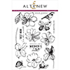 Altenew WILD HIBISCUS Clear Stamp Set AN186