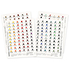 Daniel Smith Extra Fine Watercolor 238-Dot Color Chart