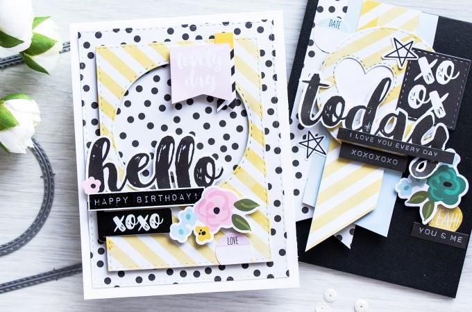 Simon Says Stamp | April 2016 Card Kit - Layering Die Cuts & Embellishments