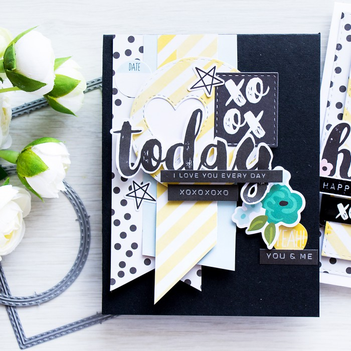 Simon Says Stamp | April 2016 Card Kit - Layering Die Cuts & Embellishments