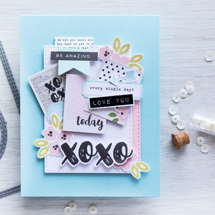 Simon Says Stamp | April 2016 Card Kit – Embellishment Clusters