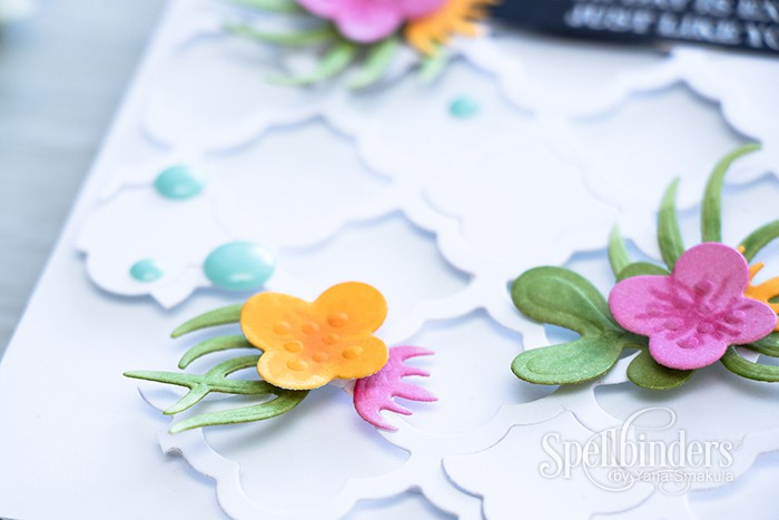 Spellbinders | Mother's Day Card with Succulent Garden Dies. Video