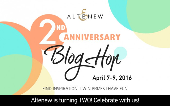 Altenew 2nd Anniversary Blog Hop