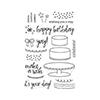 Hero Arts Birthday Cake Layering Stamps