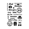 Hero Arts Clear Stamps DAPPER DAD CL948