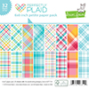 Lawn Fawn PERFECTLY PLAID Petite 6x6 Paper Pack LF1114