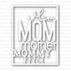 Simon Says Stamp FULL CARD MOM Craft Die SSSD111339