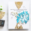 Altenew | May 2016 Release Blog Hop. Good Endings card featuring Sentiments - Beautiful Quotes and Floral - Majestic Bloom