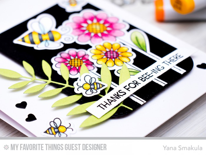MFT Guest Designer | Thanks For Bee-Ing There