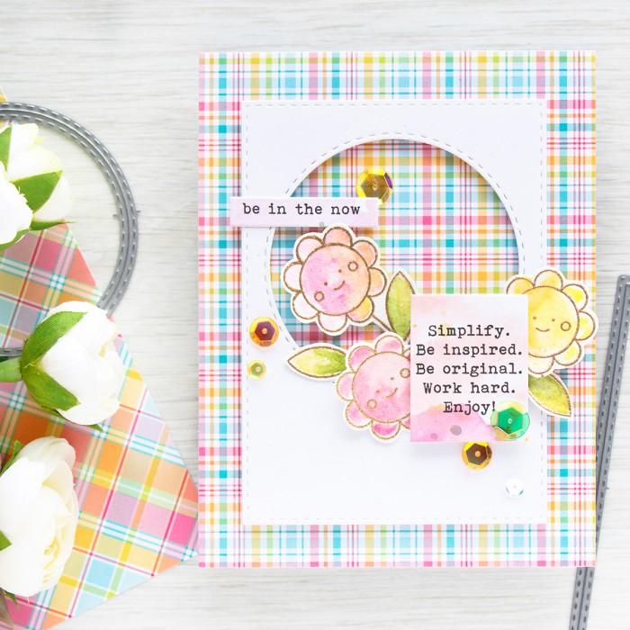 Simon Says Stamp | May 2016 Card Kit - Be in the now