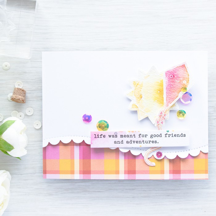 Simon Says Stamp | May 2016 Card Kit - Good Friends and Adventures
