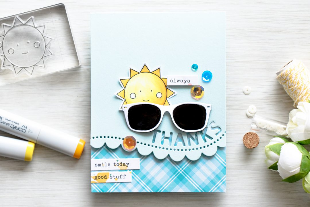 Simon Says Stamp | May 2016 Card Kit – Sunglasses