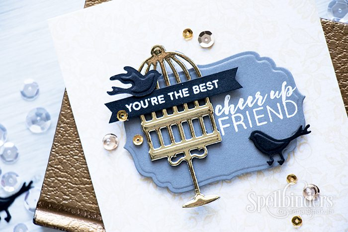 Spellbinders | Cheer Up Friend Card featuring PRIZM machine. Video