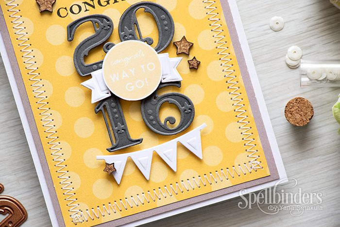 Spellbinders | Graduation Card. Video