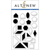 Altenew SIMPLE SHAPES Clear Stamp Set AN113