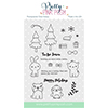 Pretty Pink Posh HOLIDAY PALS Clear Stamp Set PPPS001