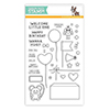 Simon Says Stamp CUDDLY CRITTER ACCESSORIES Stamp Set SSS101611