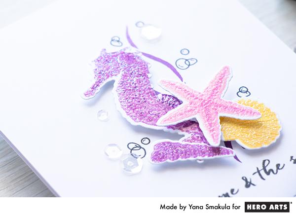 Hero Arts | Color Layering Seahorse