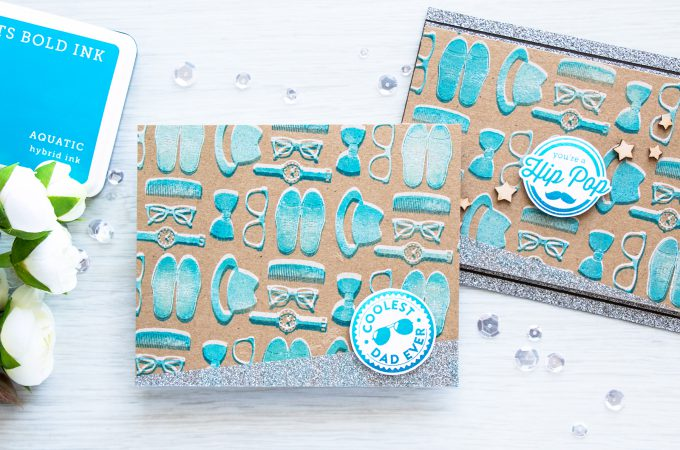 Hero Arts | Summer 2016 Release Blog Hop. Masculine cards - Father's Day. Video