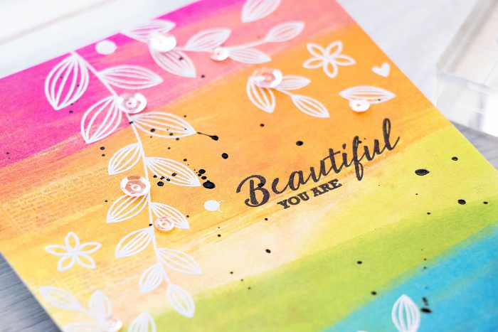 Simon Says Stamp | June 2016 Card Kit - You Are Beautiful