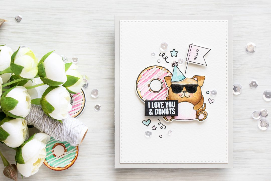 Simon Says Stamp | I Love You & Donuts. Video