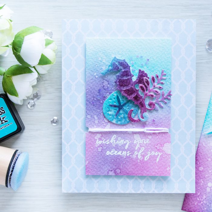 Spellbinders | Adding color and texture to die cuts. Video