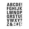Hero Arts Luggage Tag Alphabet Stamp Set CL982