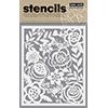 Hero Arts Bold Floral Stencil SA067
