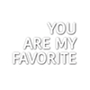 Simon Says Stamp You Are My Favorite Die SSSD111578