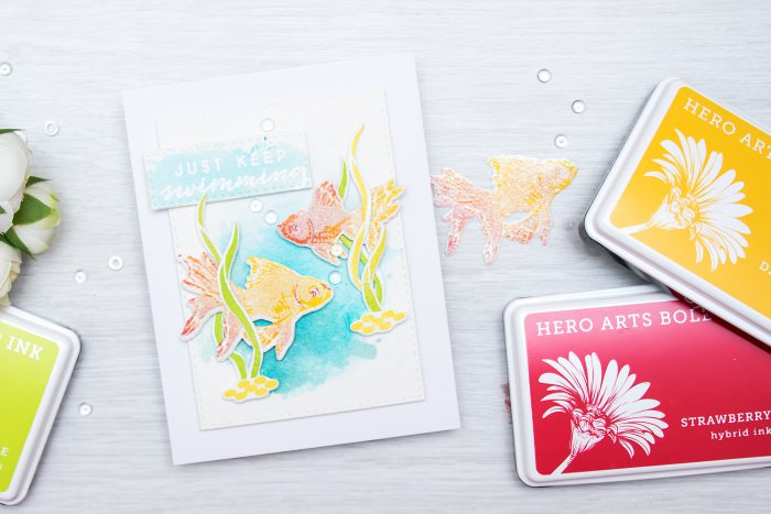 Hero Arts | Color Layering Blog Hop + Giveaway