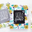 Simon Says Stamp | Tips for stamping floral patterns. Video
