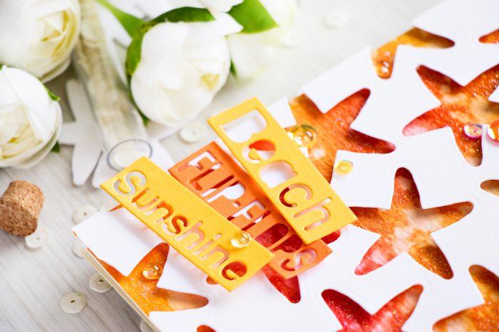 Beach 8 Pairs of Flip Flops Die Cuts Sunshine Ch Any Colour//Card Summer