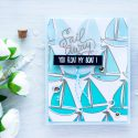Simon Says Stamp | Ombre Pattern Stamping. You Float My Boat