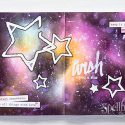 Spellbinders | Art Journal Wish Upon A Star Spread. Video