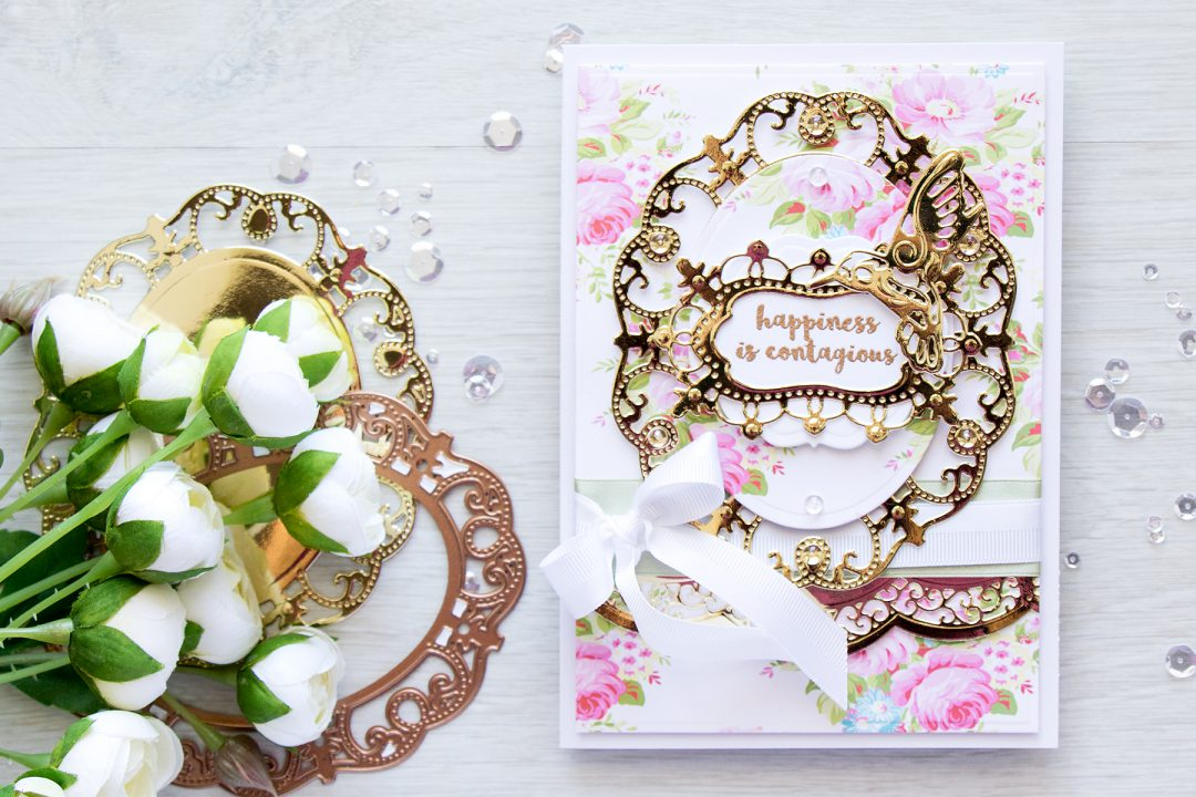 Spellbinders | Botanical Bliss Collection - Layered Card. Video