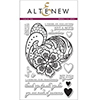 Altenew Lace Up Stamp Set