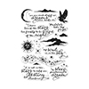 Hero Arts Shakespearean Poetry Stamp Set CM106