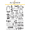 Altenew Coffee Love Stamp Set