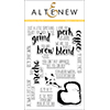 Altenew Coffee Talk Stamp Set