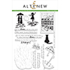 Altenew Dancing in the Rain Stamp Set