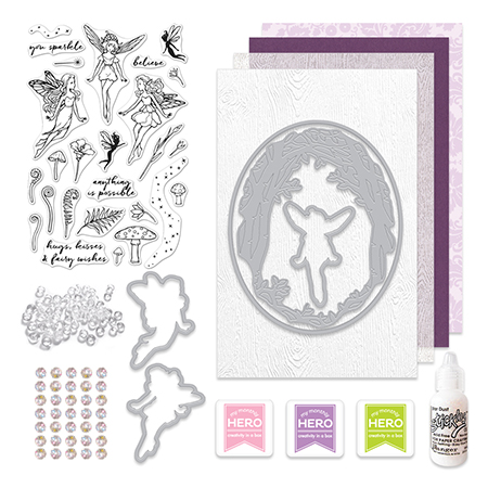 Hero Arts My Monthly Hero August 2016 Kit