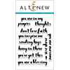 Altenew Painted Encouragement Stamp Set