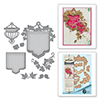 Spellbinders Beautiful Banner Basket Dies S4-651